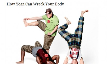 Combate ao Yoga ganha voz nos EUA