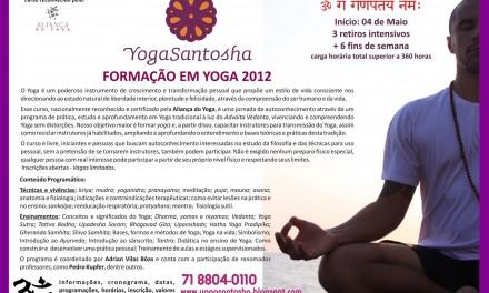 4ª edição do Curso de Formação em Yoga :: Yoga Santosha