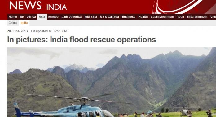 Chuvas Fortes Castigam População dos Himalaias…