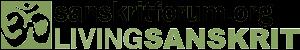 Logo sanskritforum musgo letras pretas 600x100